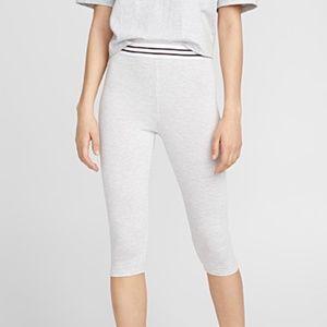 *3for$30* Basic heather gray capri bike leggings